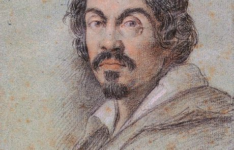 Baroque Rome is Caravaggio who can be seen in this self-portrait, the only one he left us!