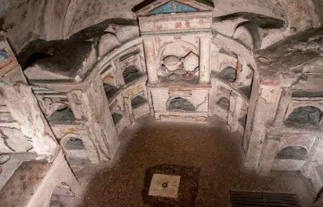 a view into the Columbarium of Pomponius Hylas