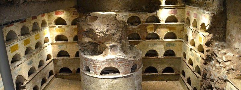 the columbarium or multi-occupant underground tomb near the scipios