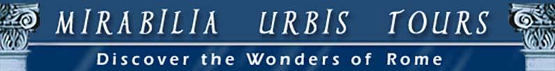 Mirabilia Urbis Tours Logo