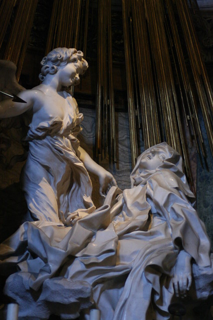 Roma Barocca on the Quirinal Hill includes Bernini's statue of Saint Theresa in Ecstasy, one of the highest expressions of Baroque art