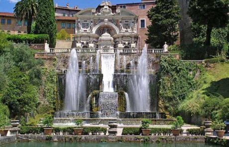villa's d'este's amazing fountains and jets of water