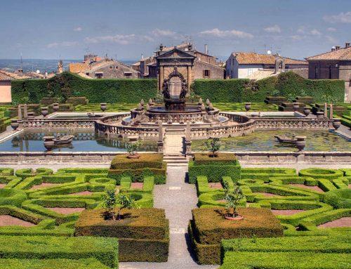 Renaissance Gardens in and near Viterbo: Villa Lante and Palazzo Farnese